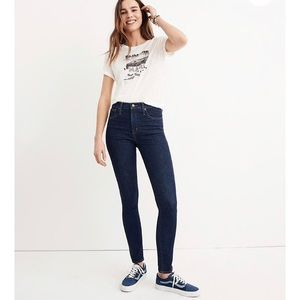 """Madewell Tall 10"""" High-Rise Skinny Jeans"""
